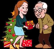 Cadeau de noël pour Grand-père
