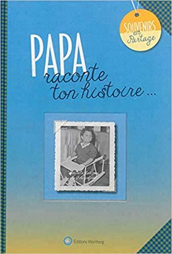Cadeau pour la Fête des pères - livre-cadeau à remplir