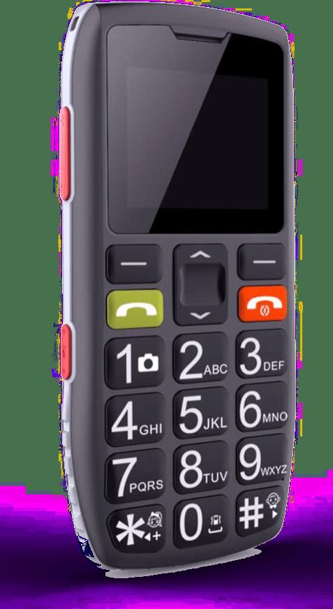 Telephone portable pour une personne agée- mobile senior