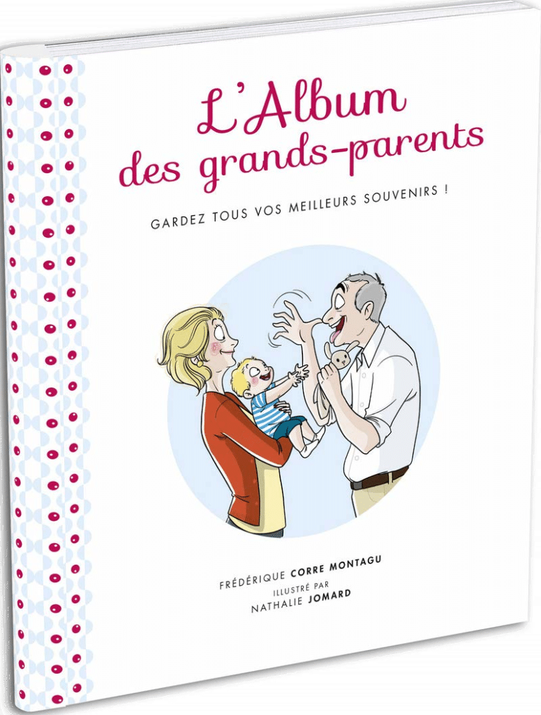 cadeau pour des futurs grands-parents