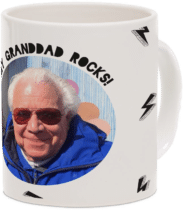 cadeau photo - mug pour papy