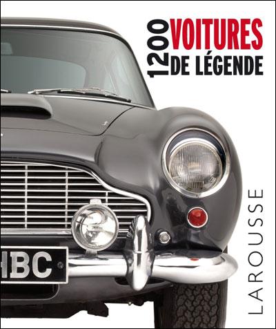 cadeau pour un passionné de voitures - 1200 voitures legende