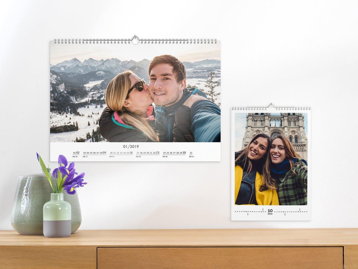 calendrier personnalisé photos - cadeau pour Grand-père
