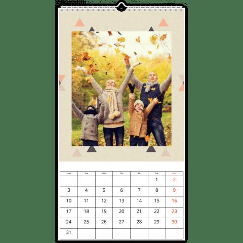 calendrier personnalisé pour grand-père