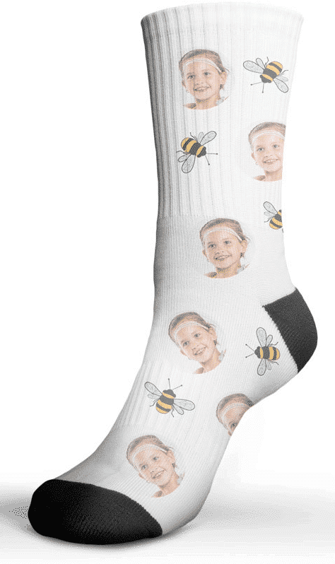 Chaussettes personnalisées - cadeau papy