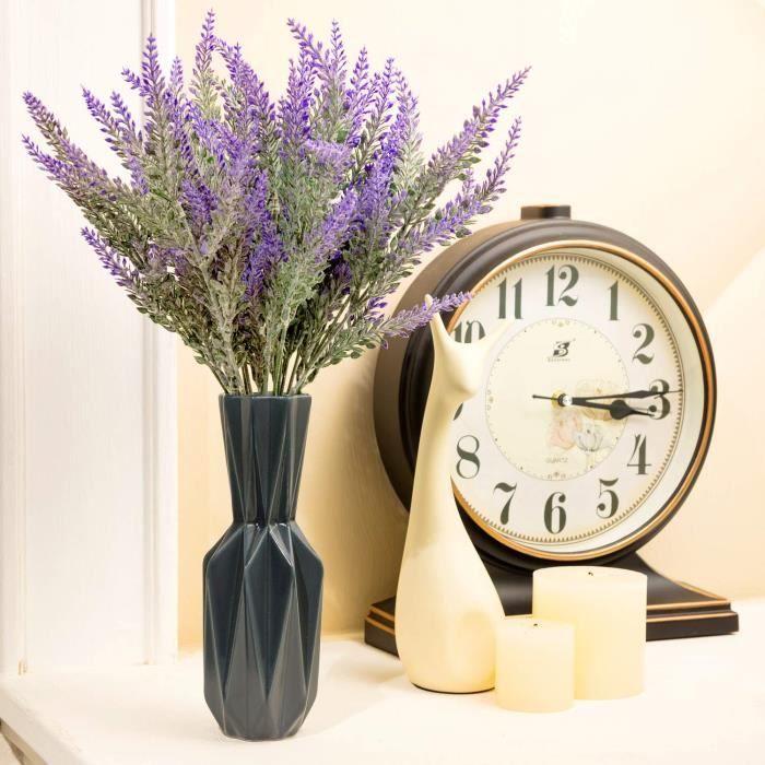 fleurs artificielles - lavande - cadeau pour grand-père