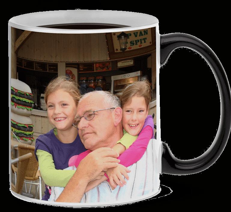mug magique avec photos pour papy