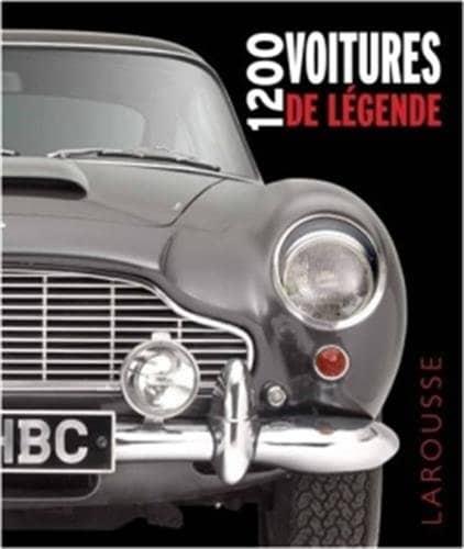 voitures de légende -livre