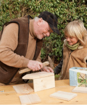idée cadeau pour grand-père - kit de construction nichoir