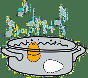 cadeau rigolo et musicale - minuteur œuf