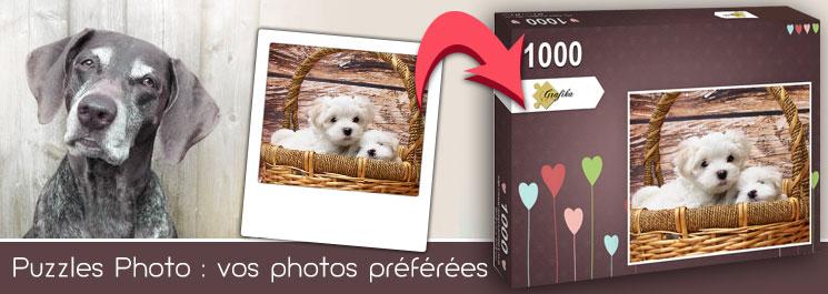 Puzzle photo - Cadeau Grand-père