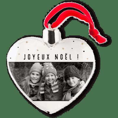 Boule de Noël avec photo - Cadeau de Noël grand-père