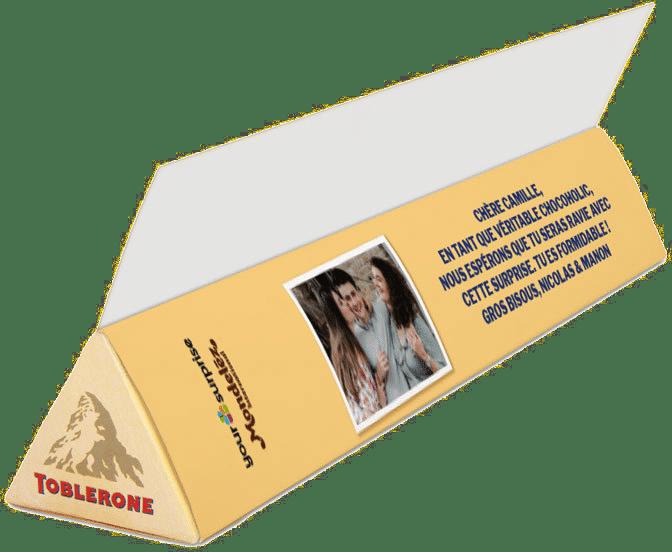 chocolat personnalisé - cadeau noel homme