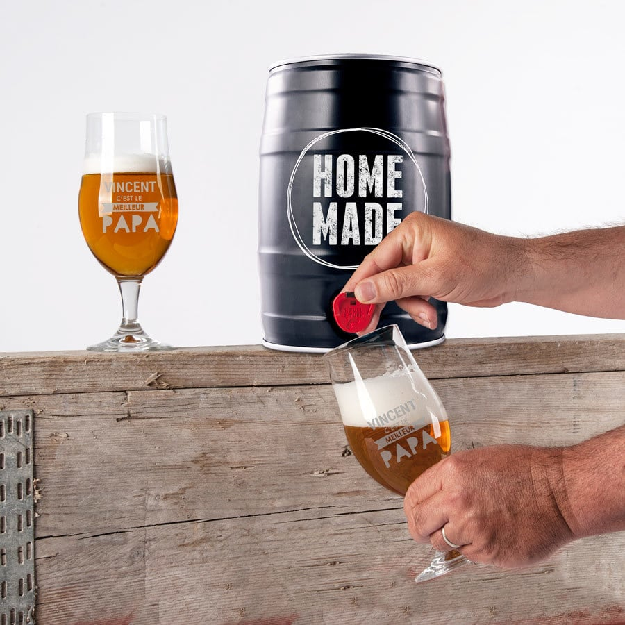 Cadeau Fête des pères- kit de fabrication de bière maison