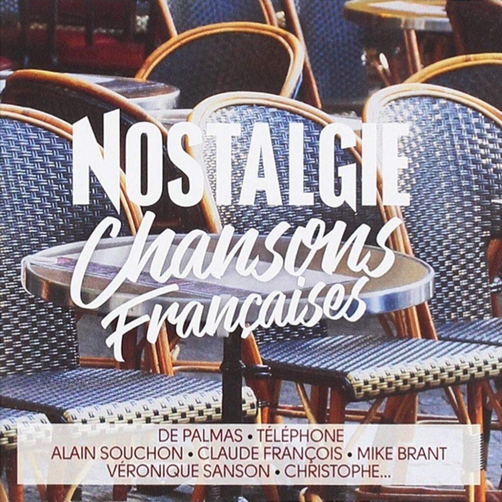 CD Nostalgie Chansons Françaises