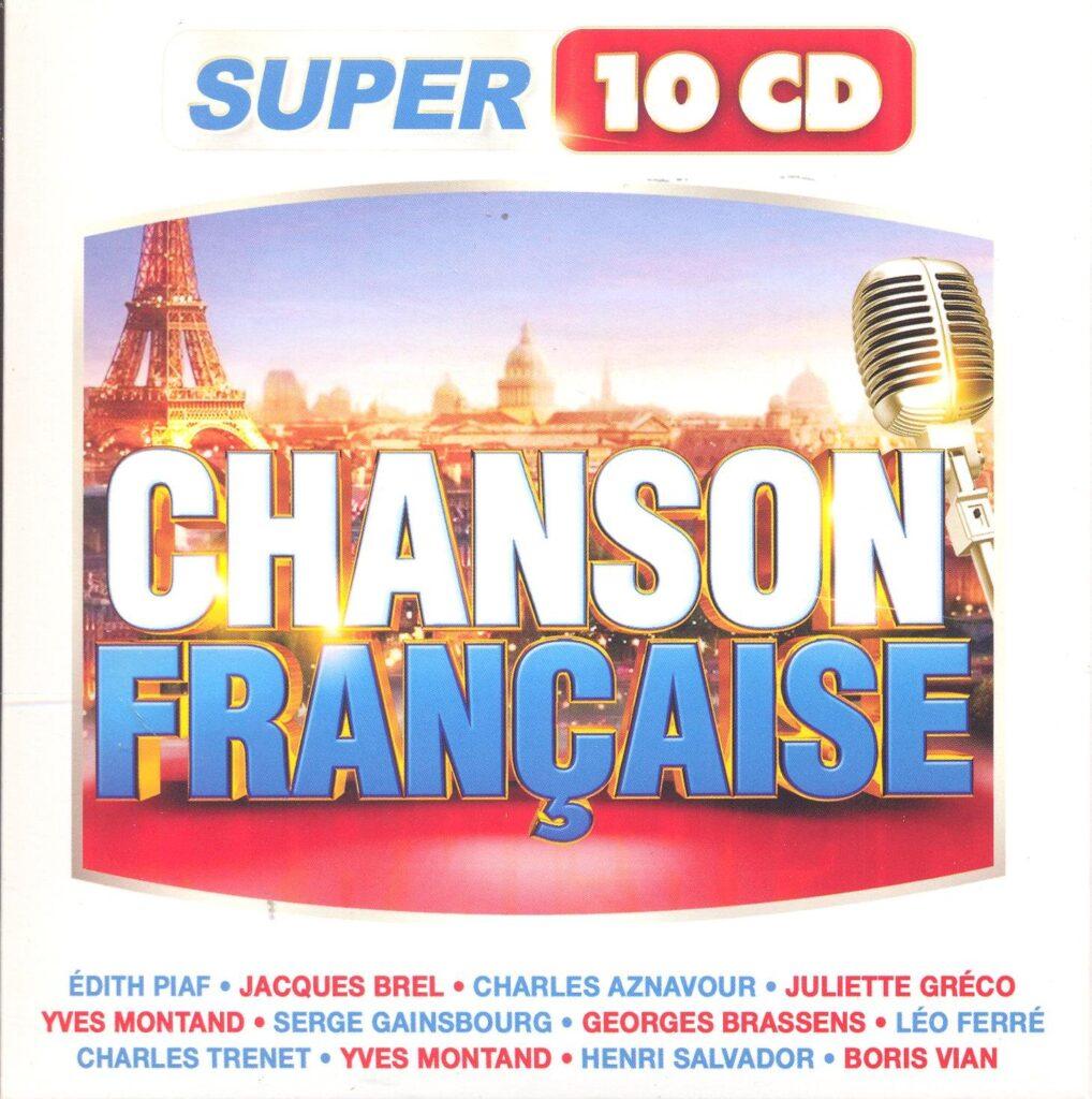 chansons françaises - CD