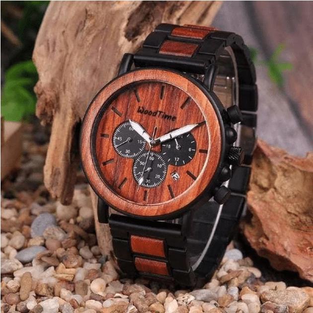montre en bois sunwoodtime