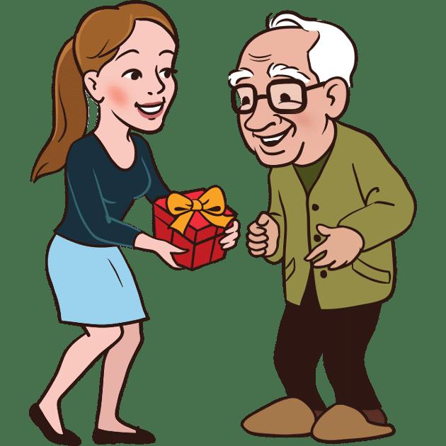 cadeau pour papi