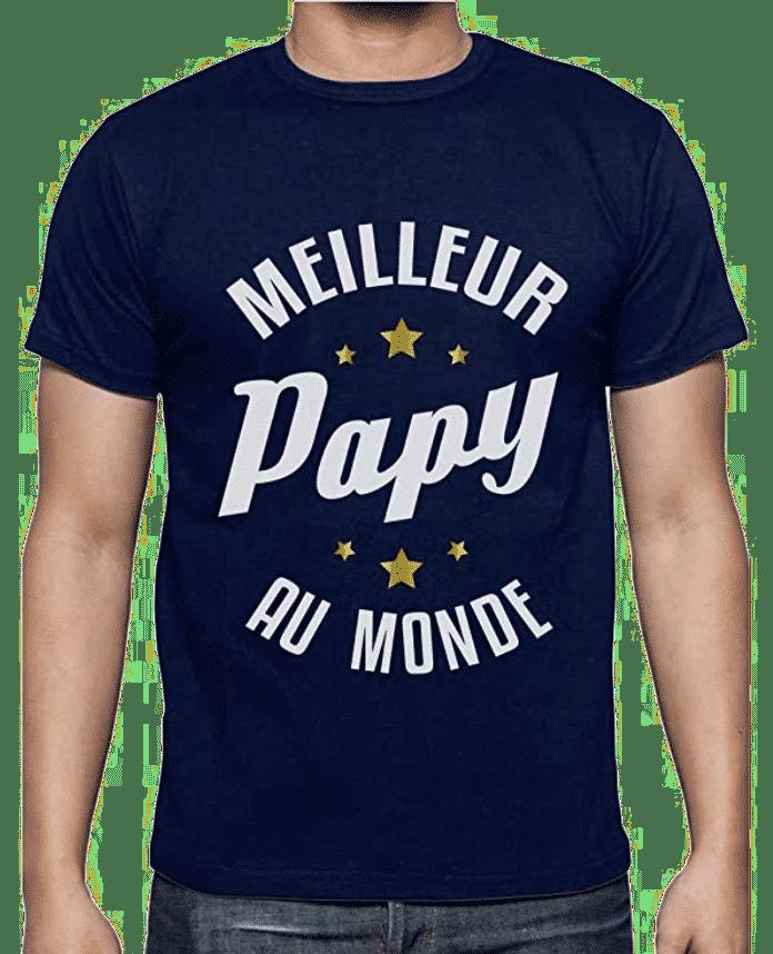 Cadeau pour un futur papy - t-shirt