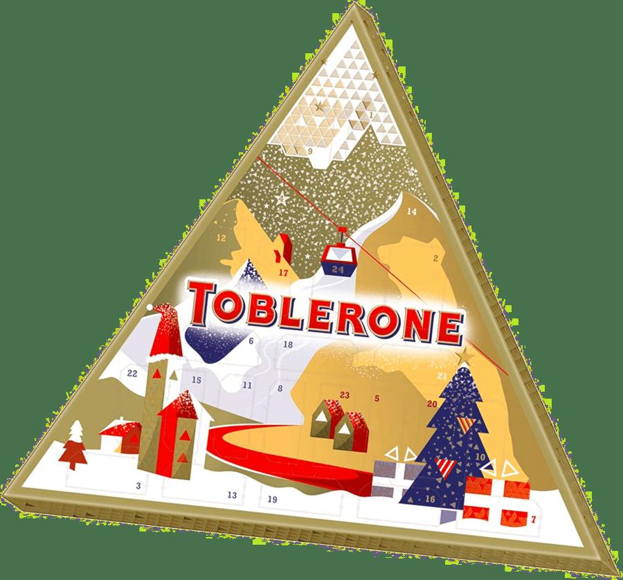 calendrier de l'Avent pour un homme - Toblerone