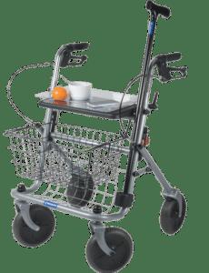 accessoires de la vie pratique pour des seniors - rollator pour grand-père