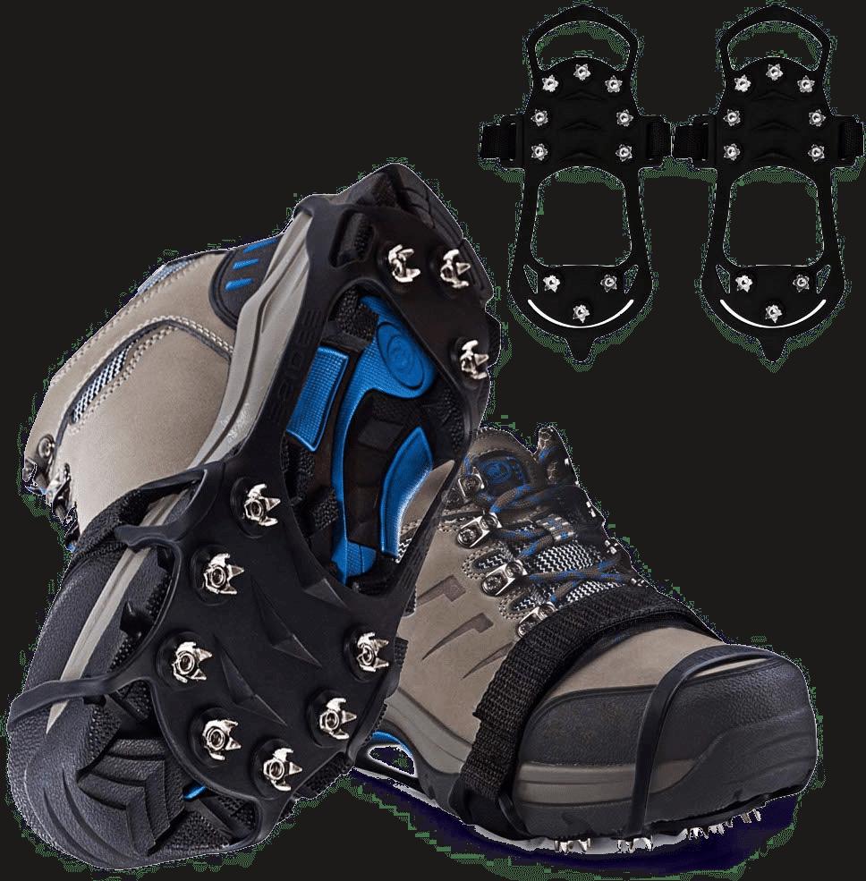 crampons à chaussures pour neige - cadeau pour un homme senior