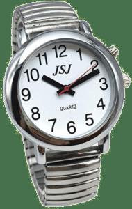 montre parlante - cadeau pour un grand-père de 85 ans