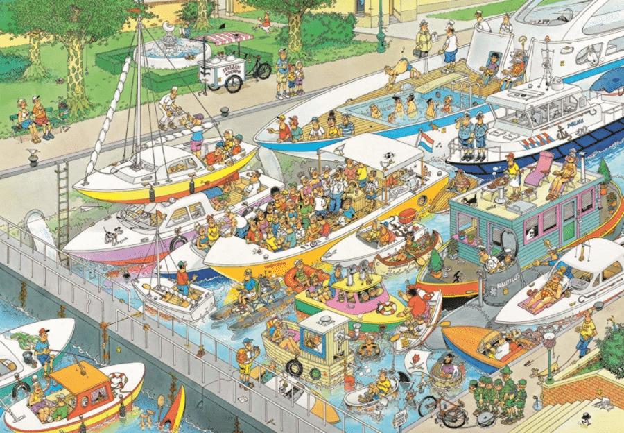 Cadeau d'anniversaire pour grand-père -puzzles pour des adultes