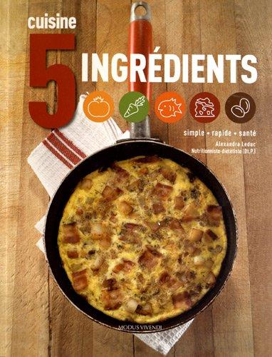 livre de cuisine recettes simples - cadeau pour le camping