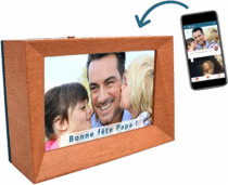 cadeau d'anniversaire pour papy - Cadre photo numérique SIM WiFi