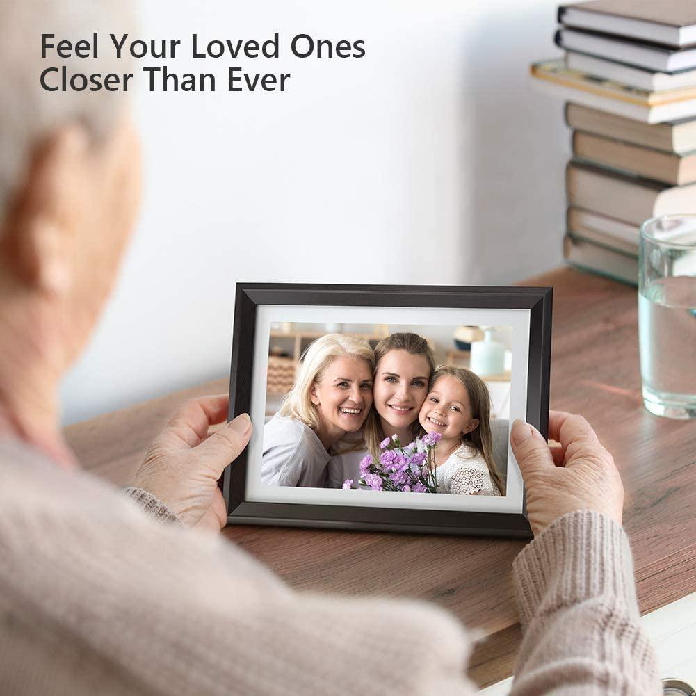 cadeau pour grand-père - cadre photo wifi