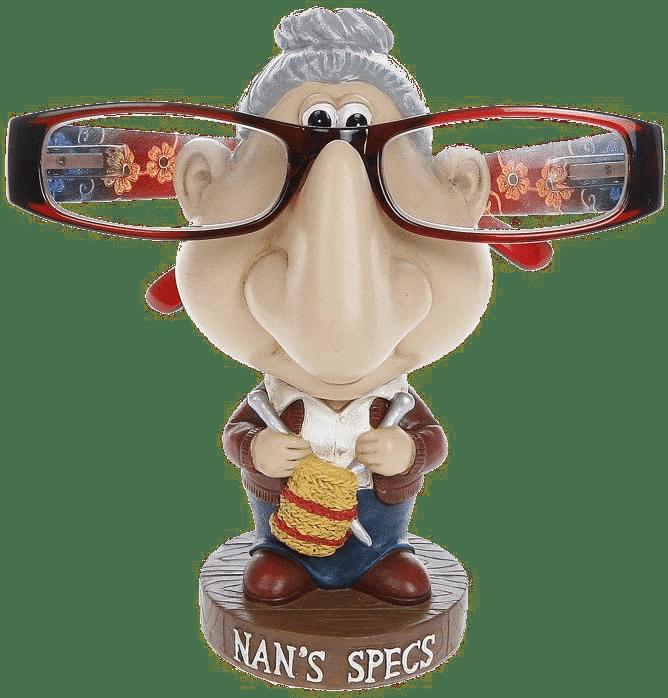 Support à lunettes - Grand-mère
