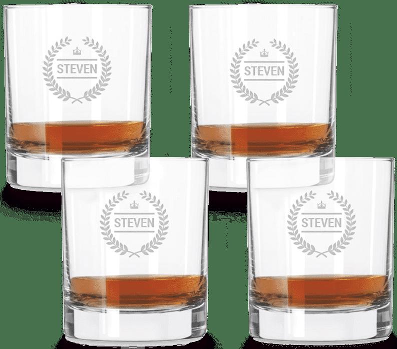 Verre whisky personnalisé - Cadeau pour un homme de 65 ans