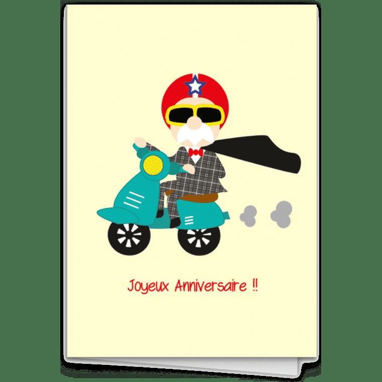 Envoyer des cartes postales en ligne - carte papy