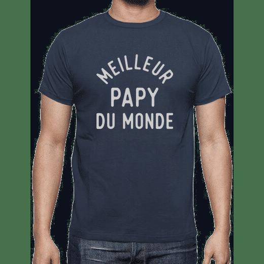idée cadeau pour papy - t-shirt meilleur papy