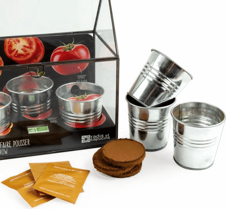 serre tomates balcon - Cadeau pour un homme de 70 ans