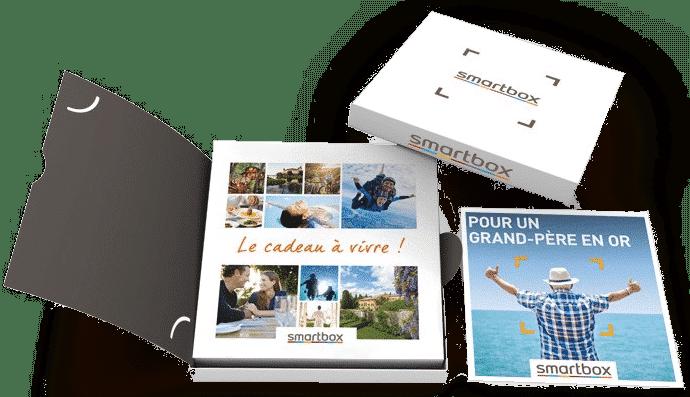 Smartbox coffret cadeau - cadeau pour un grand-père de 70 ans