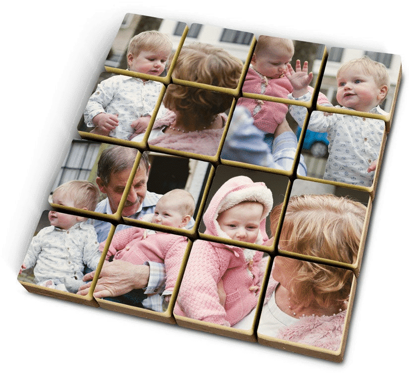 puzzle photo - cadeau pour grand-père