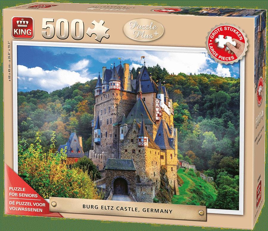 Cadeau Grand-père âgé - puzzle pieces XL