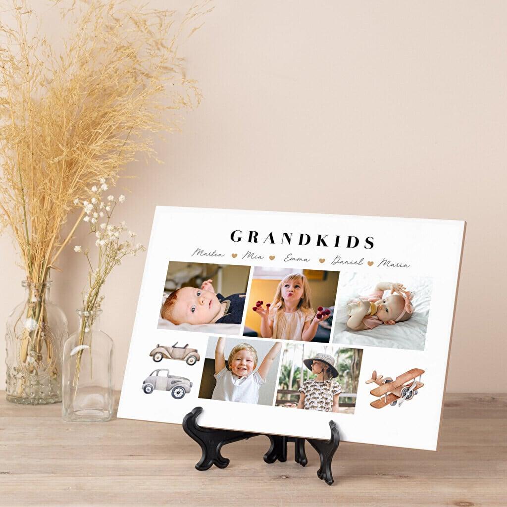 photo carrelage - cadeau grands-parents